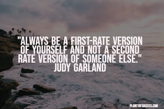 Being a first-rate person quote