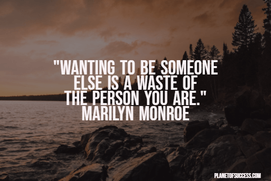 Being someone else quote