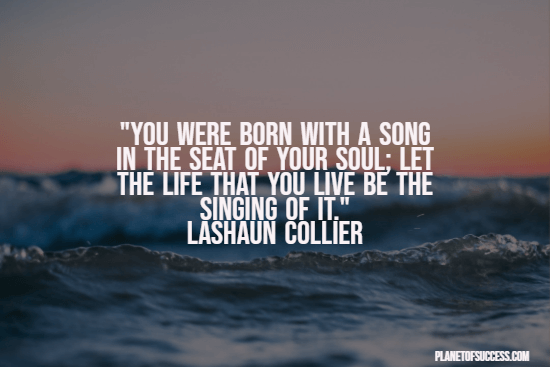 Sing your song quote