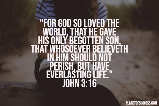 God's love for world