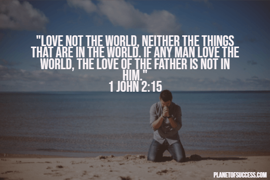 Bible quote about love