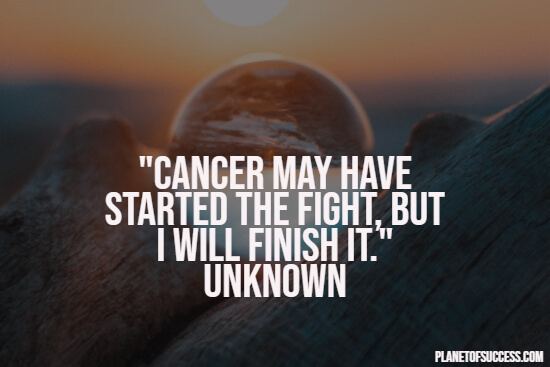 Quote about cancer