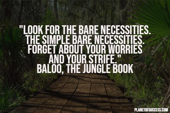 Jungle book quote