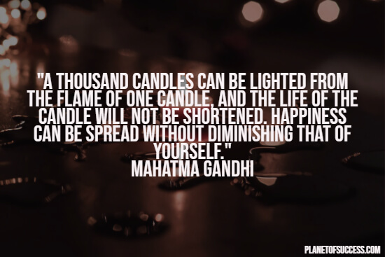 Inspirational Gandhi quote