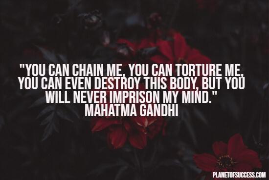 甘地说的是