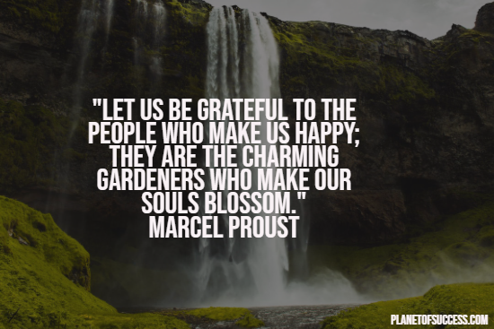 Quote about being grateful