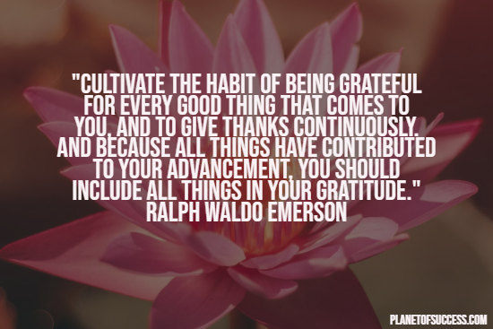 grateful quotes about appreciating life planet of success