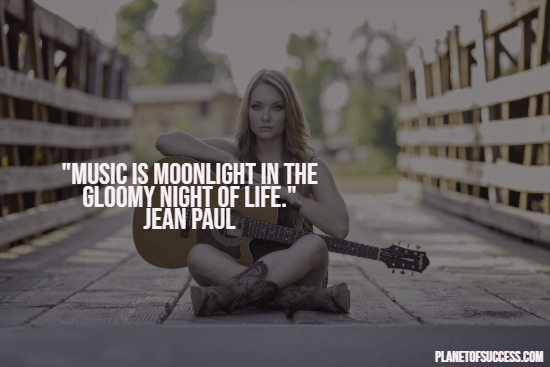 Music is the moonlight quote