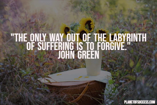 Quote about forgiveness and suffering