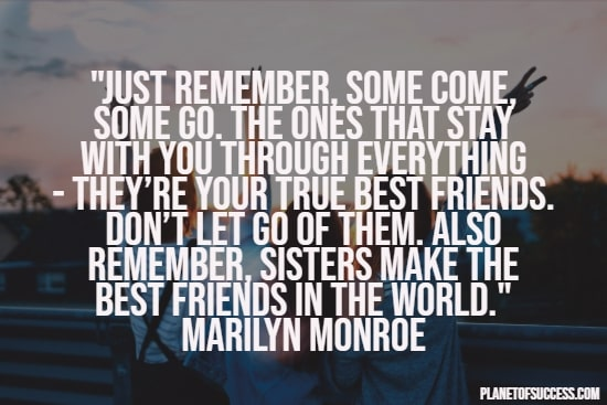 Best friends in the world quote