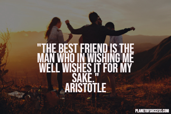 Aristotle on best friends