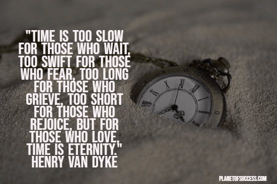 Beautiful quote about time