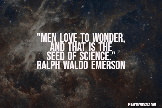 The seed of science quote