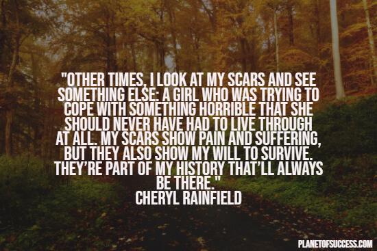 Self-mutilation quotes