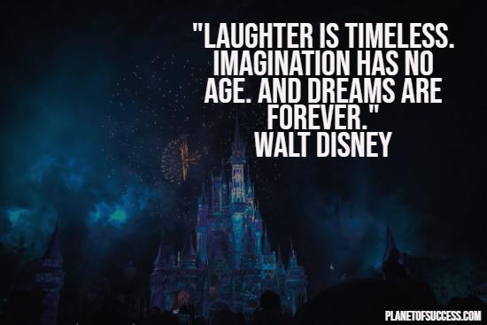 Walt Disney quote about imagination