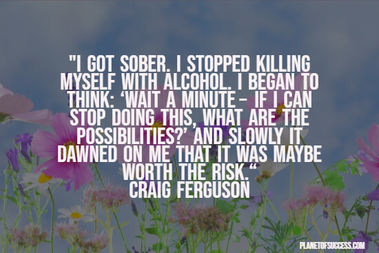 Getting sober quote