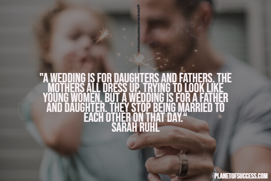 Quote about father and daughter