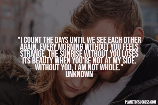 Counting the days quote