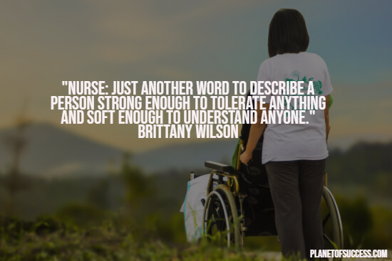 Definition of a nurse quote