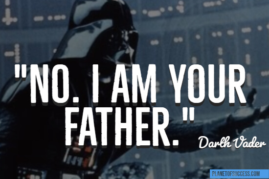 I am your father quote