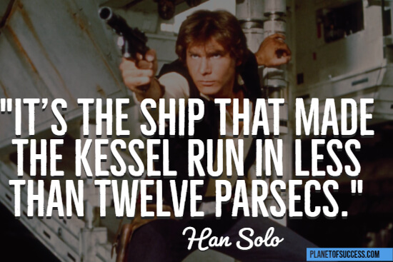 Han Solo Star Wars quote