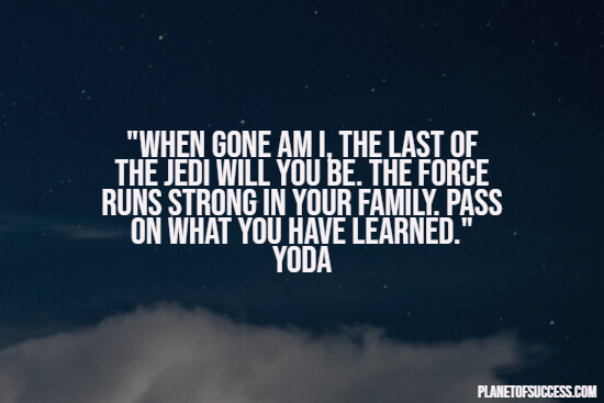 Star Wars quote by Yoda