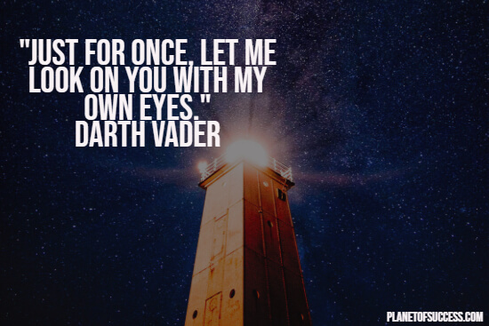Darth Vader quote