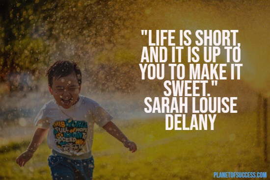Life is too short quote