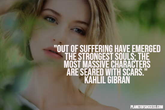 Quote about healing and suffering