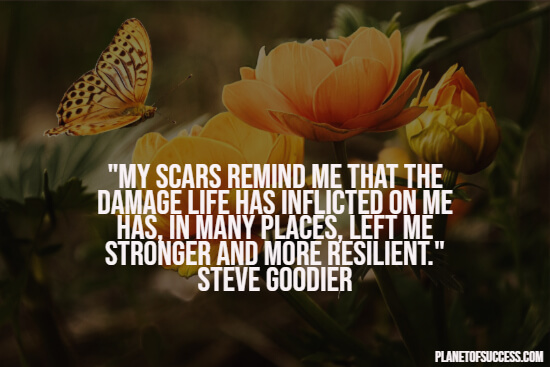 Scar quote about healing