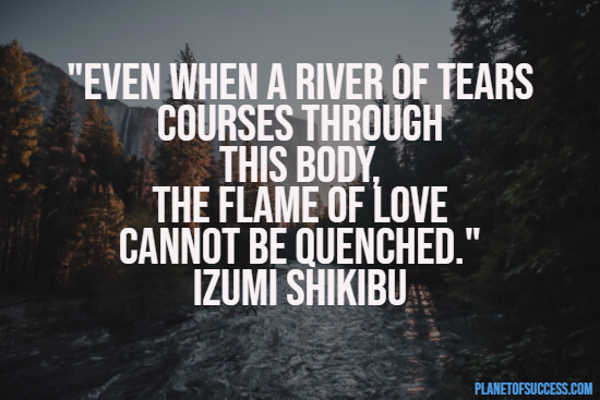 A river of tears quote