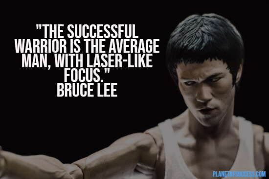 Quote about the successful warrior