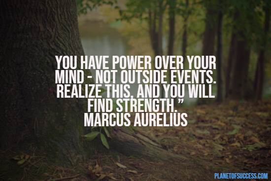 Power over your mind quote