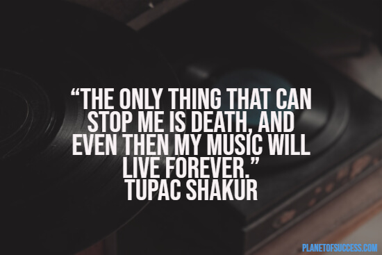 2Pac on death quote