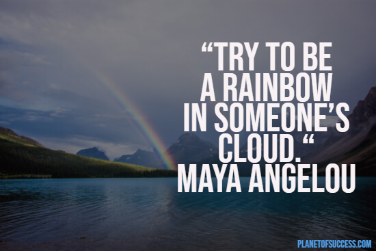 Becoming a rainbow quote