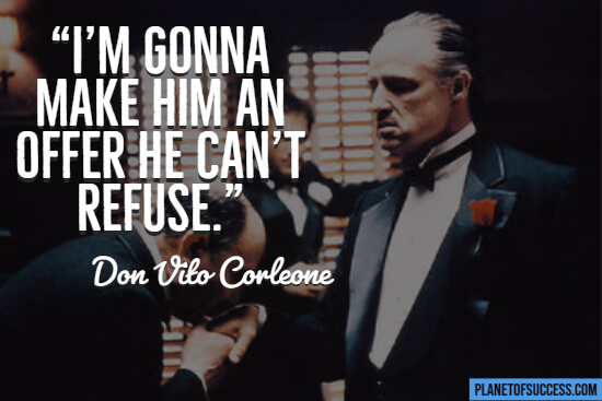 Godfather movie quote