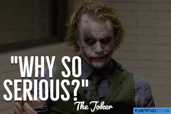 The Joker movie quote