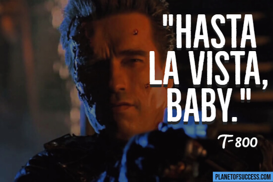 Terminator movie quote