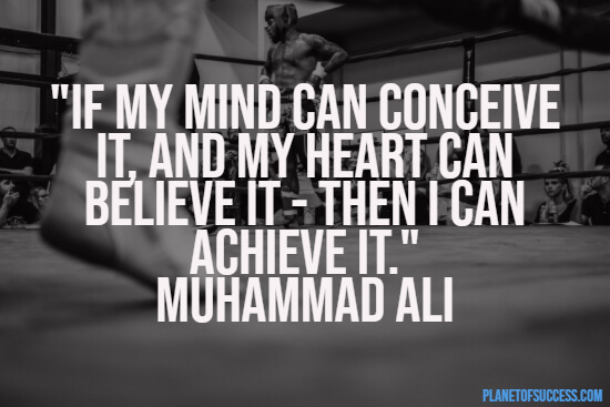 Quote about believing