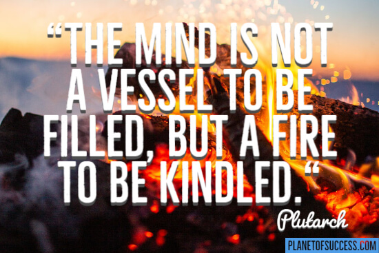 A fire to be kindled quote