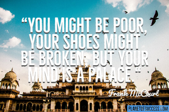 You might be poor quote