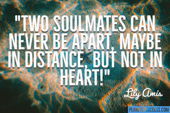 Two soulmates quote