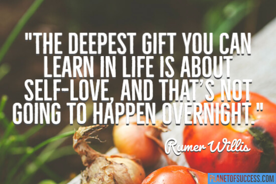The deepest gift you can learn in life