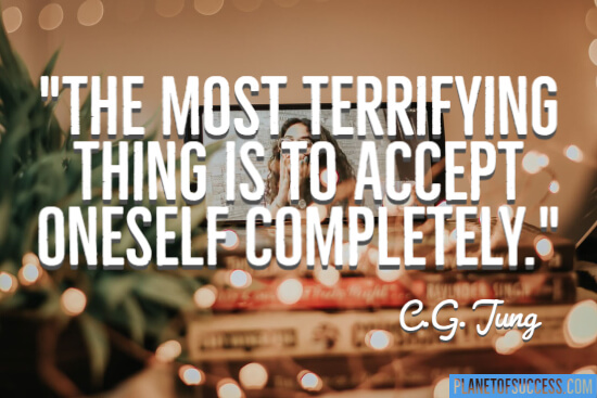 Accept oneself completely