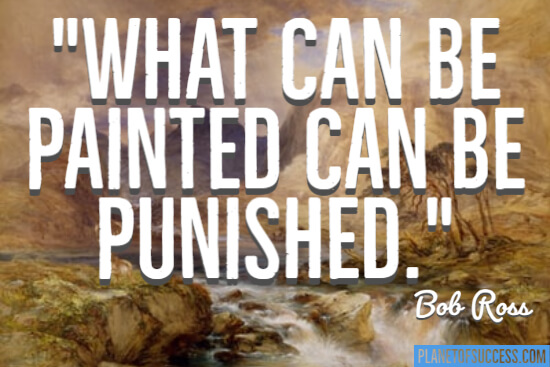 What can be painted
