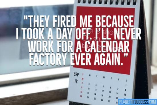 Calendar factory