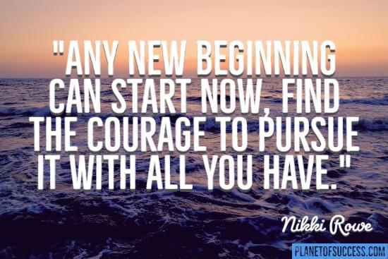 新的开始就开始