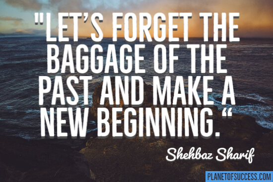 The baggage of the past