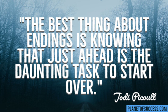 Best thing about endings