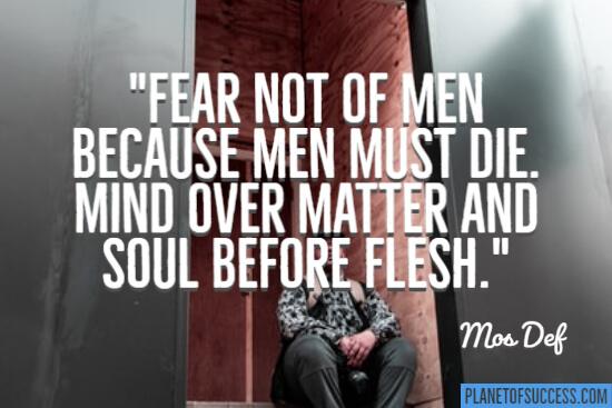 Men must die